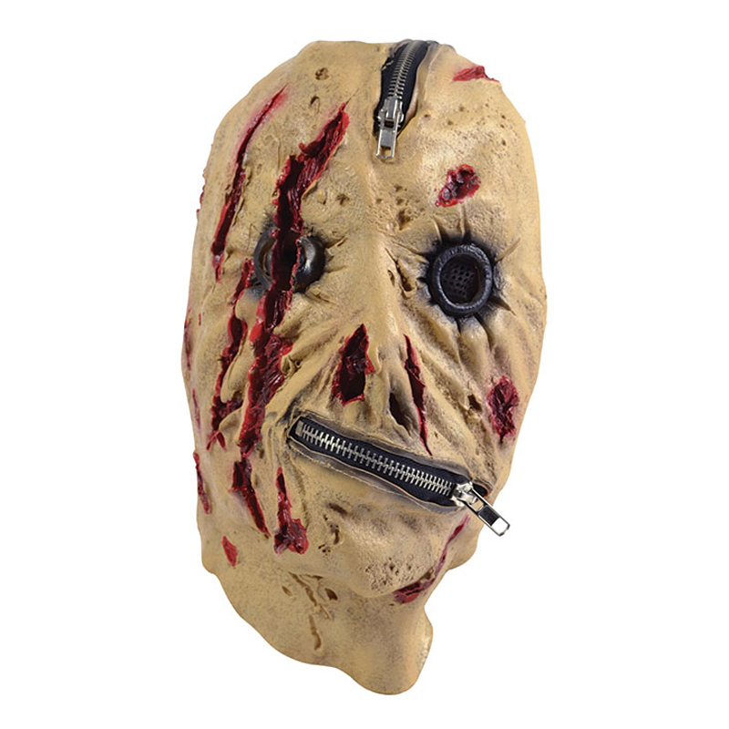Skräckmask med Dragkedja - One size