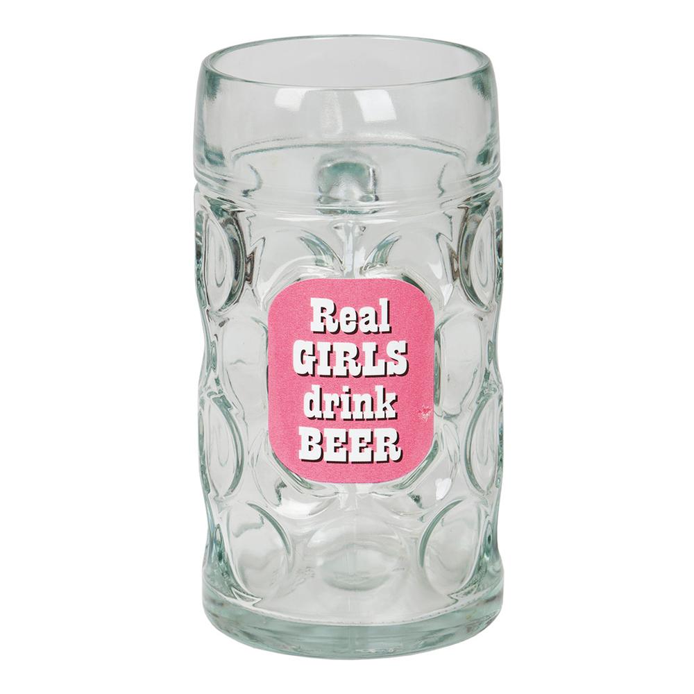 Slaktarsejdel Real Girls Drink Beer