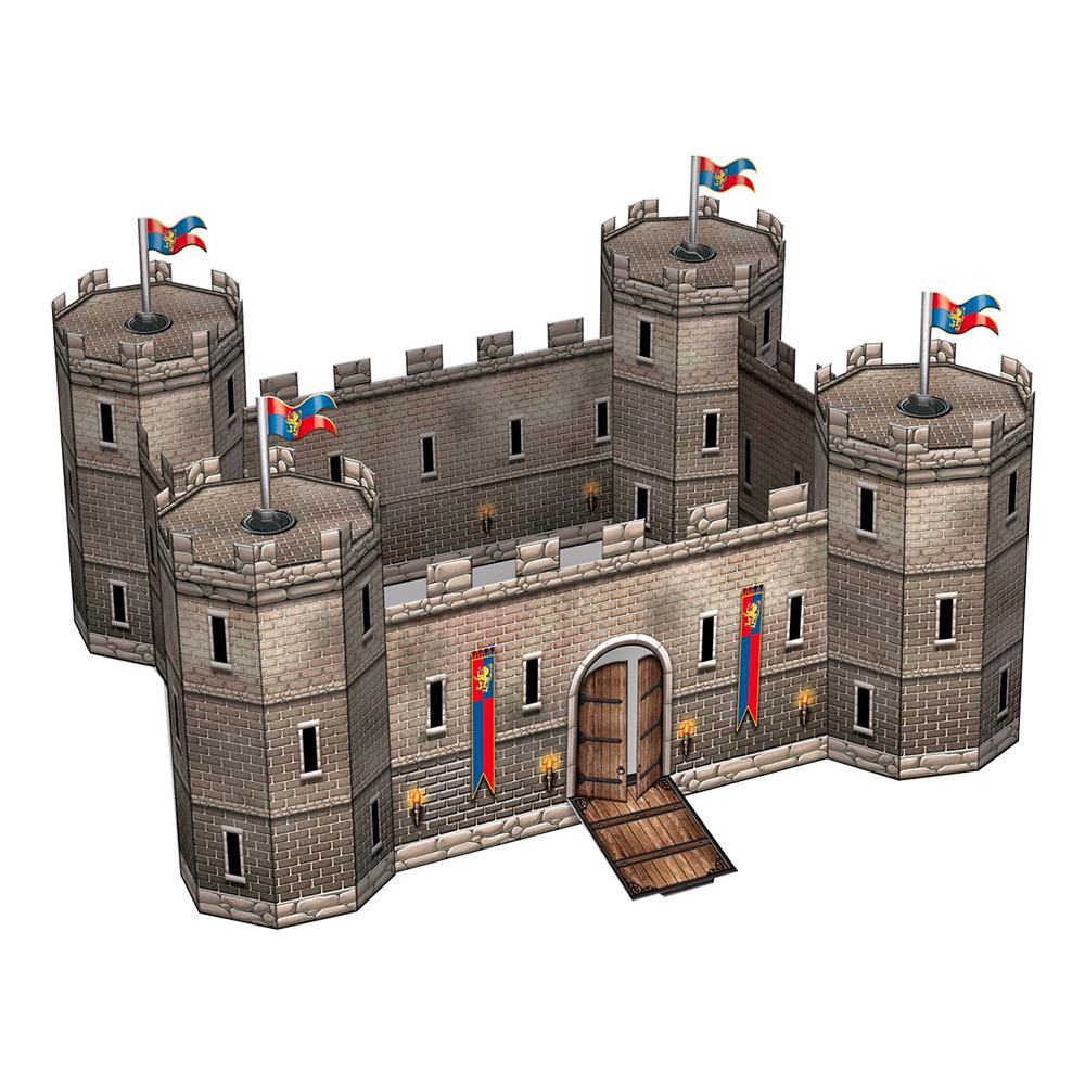 Slott Medeltida Bordspjäs