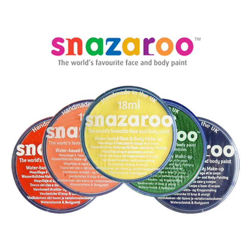 Snazaroo Ansiktsfärg - Vit
