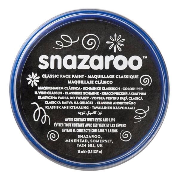Snazaroo Ansiktsfärg Metallic - Svart