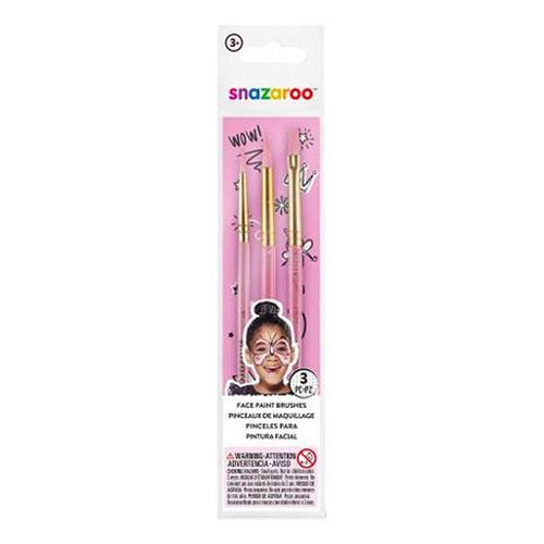 Snazaroo Ansiktspenselset Fun Brush - Rosa
