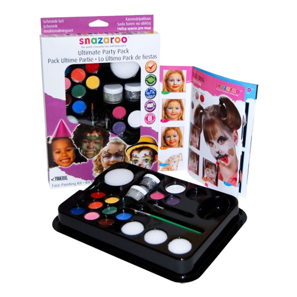 Snazaroo Ultimate Party Pack Kit