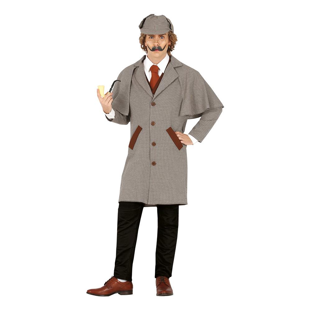 Snokande Detektiv Maskeraddräkt - Medium