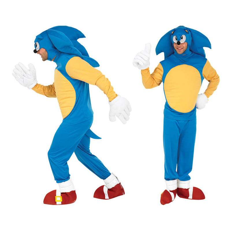 Sonic the Hedgehog Maskeraddräkt - Standard