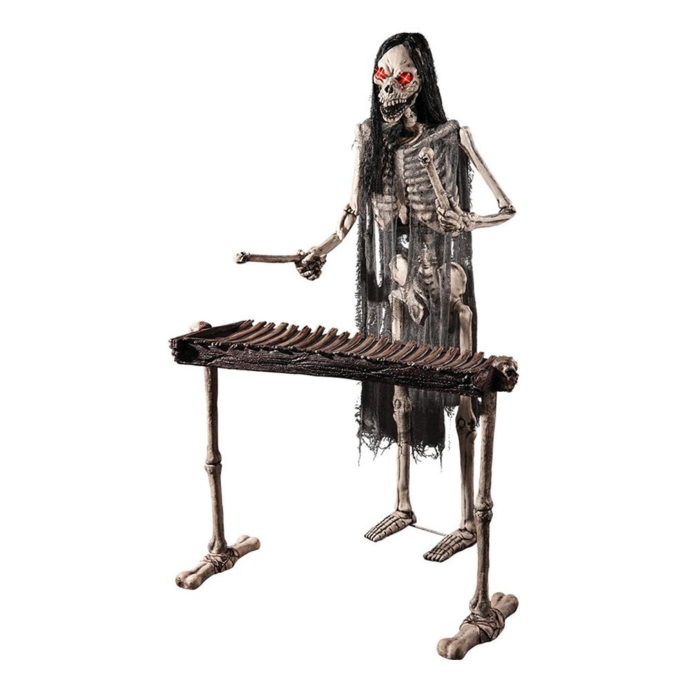 Spelande Skelett Prop