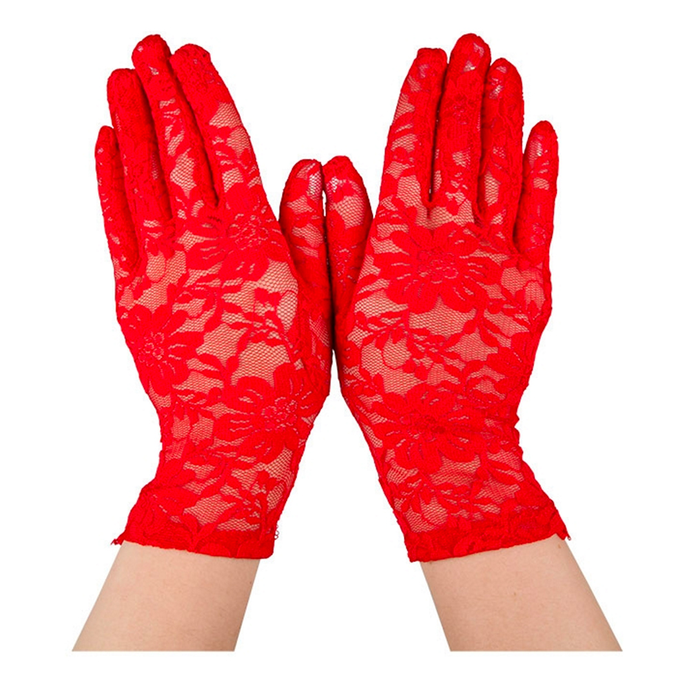 Spetshandskar Röda - One size