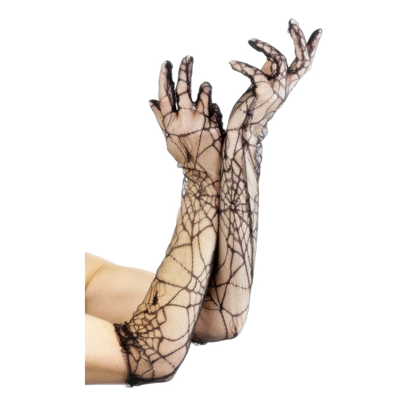 Spetshandskar Spindelnät - One size