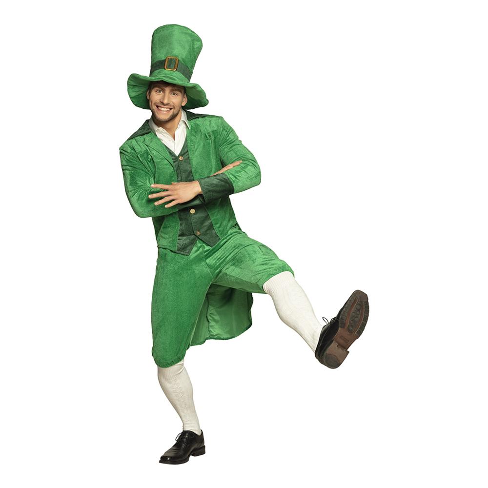 St Patricks Day Grön Maskeraddräkt - Small