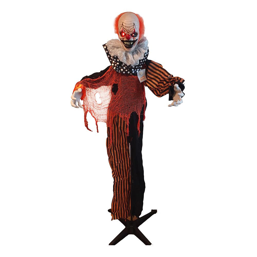 Stående Clown Prop - 166 cm