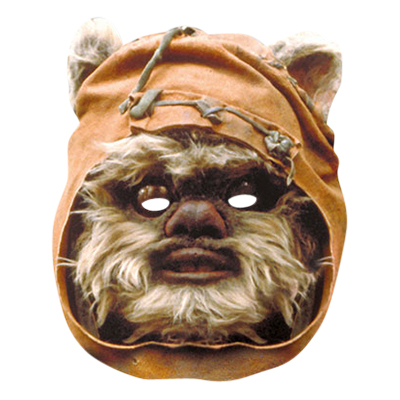 Star Wars Ewok Pappmask - One size
