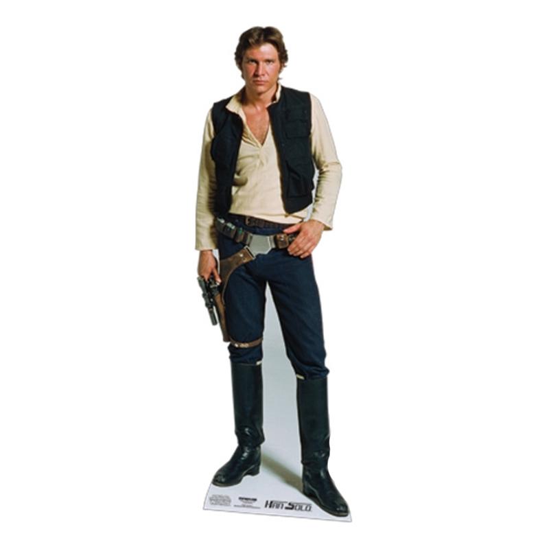 Star Wars Han Solo Kartongfigur