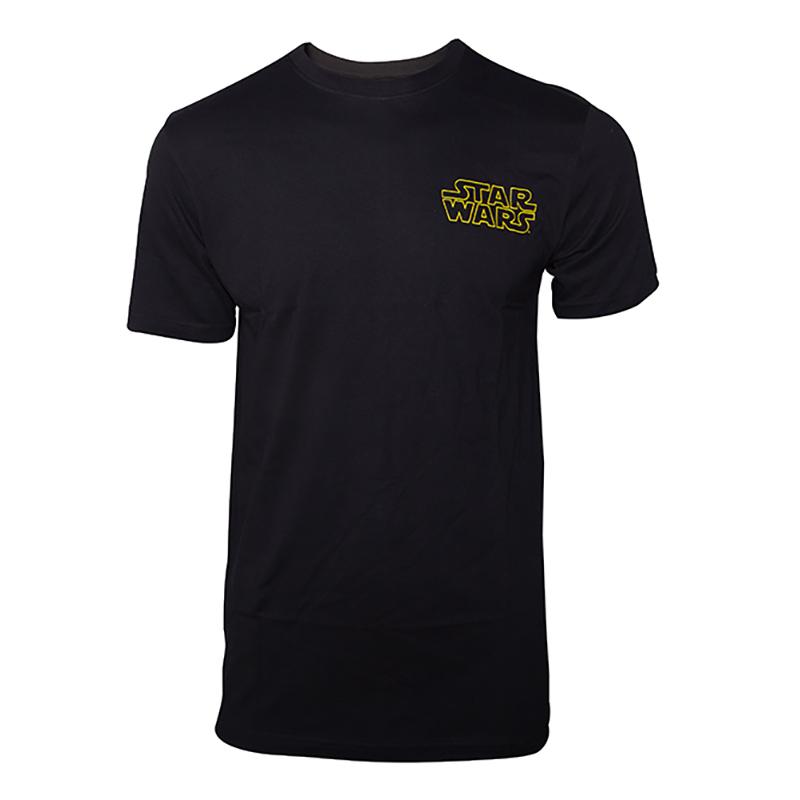 Star Wars Main Character List T-shirt - Small