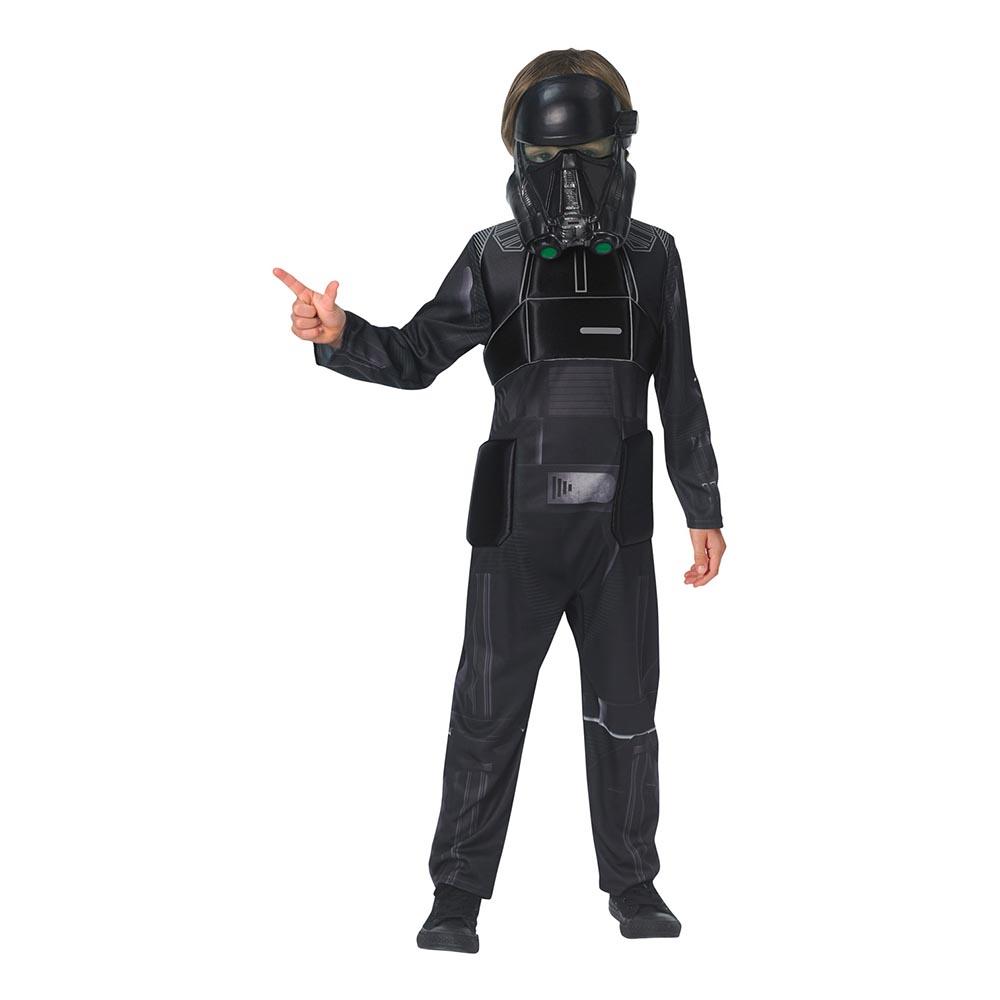Star Wars Rouge One Death Trooper Deluxe Barn Maskeraddräkt - Large