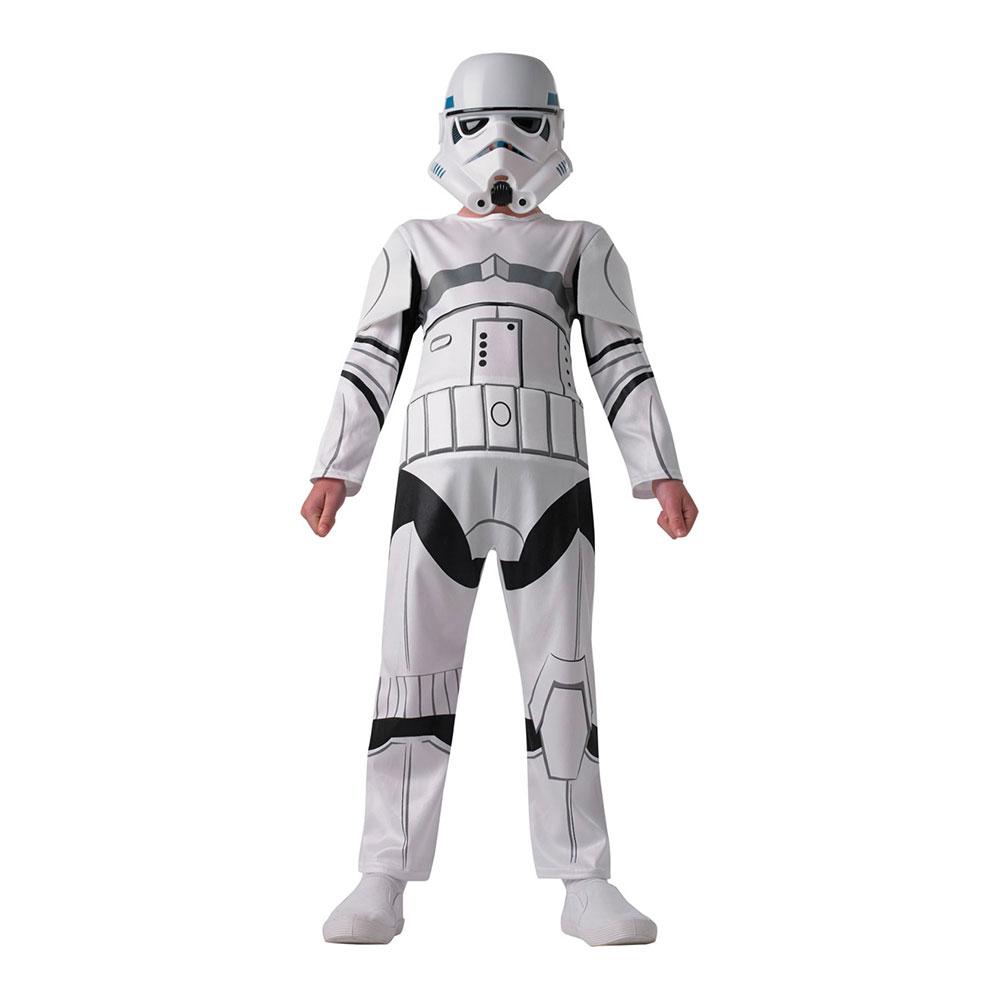 Star Wars Stormtrooper Barn Maskeraddräkt - One size