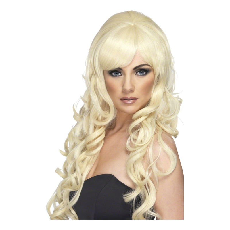 Starlet Blond Peruk - One size