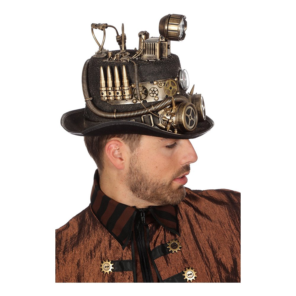Steampunk Hatt - One size