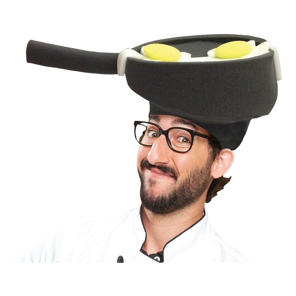 Stekpanna med Ägg Hatt - One size