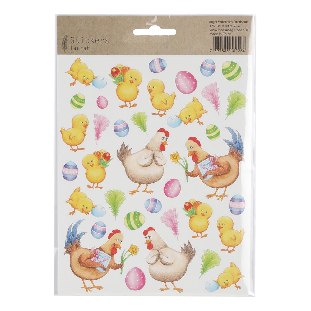 Kyckling-produkter - Stickers Kyckling & Hönor - 15x22cm