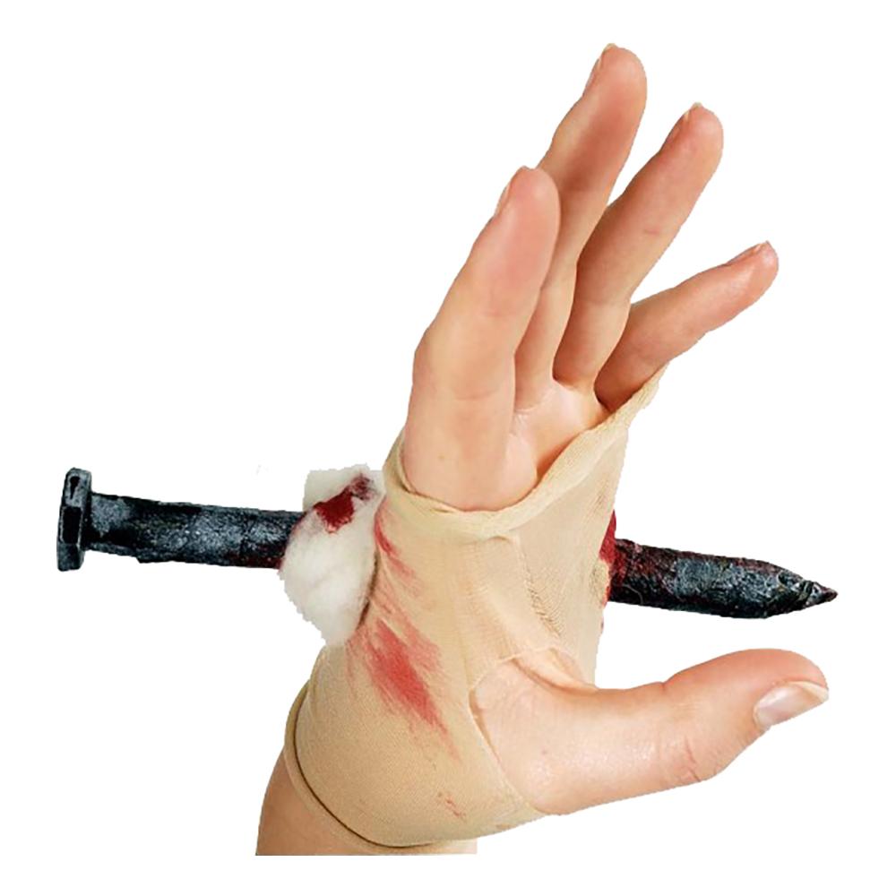 Stor Spik Genom Hand - One size