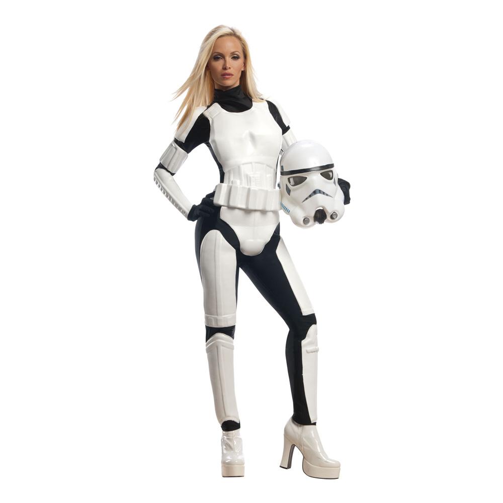 Stormtrooper Dam Maskeraddräkt - X-Small
