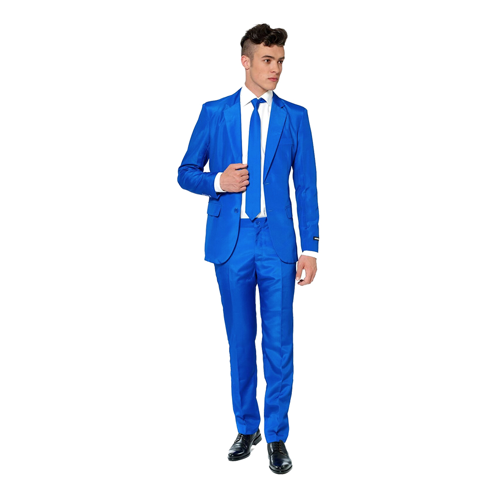Suitmeister Blå Kostym - Small