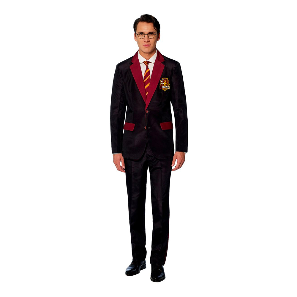 Suitmeister Harry Potter Gryffindor Kostym - X-Large