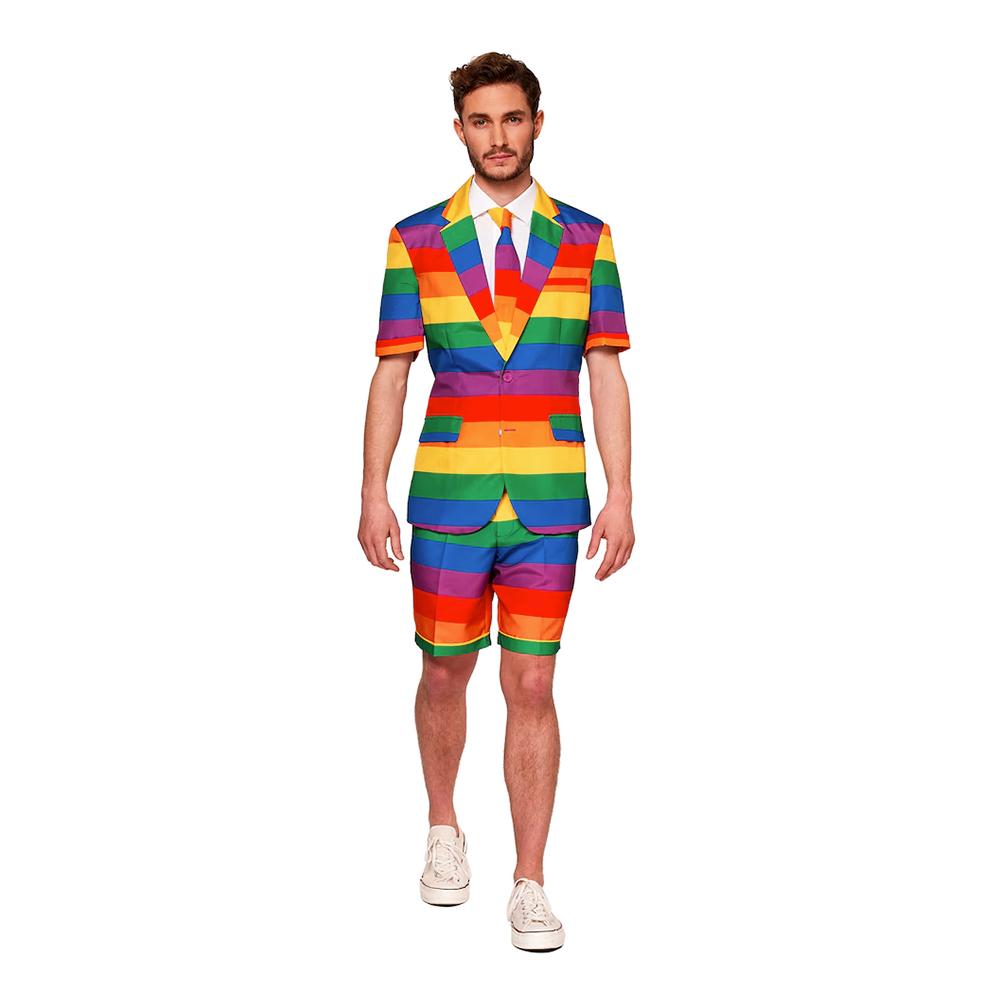 Suitmeister Rainbow Shorts Kostym - Medium