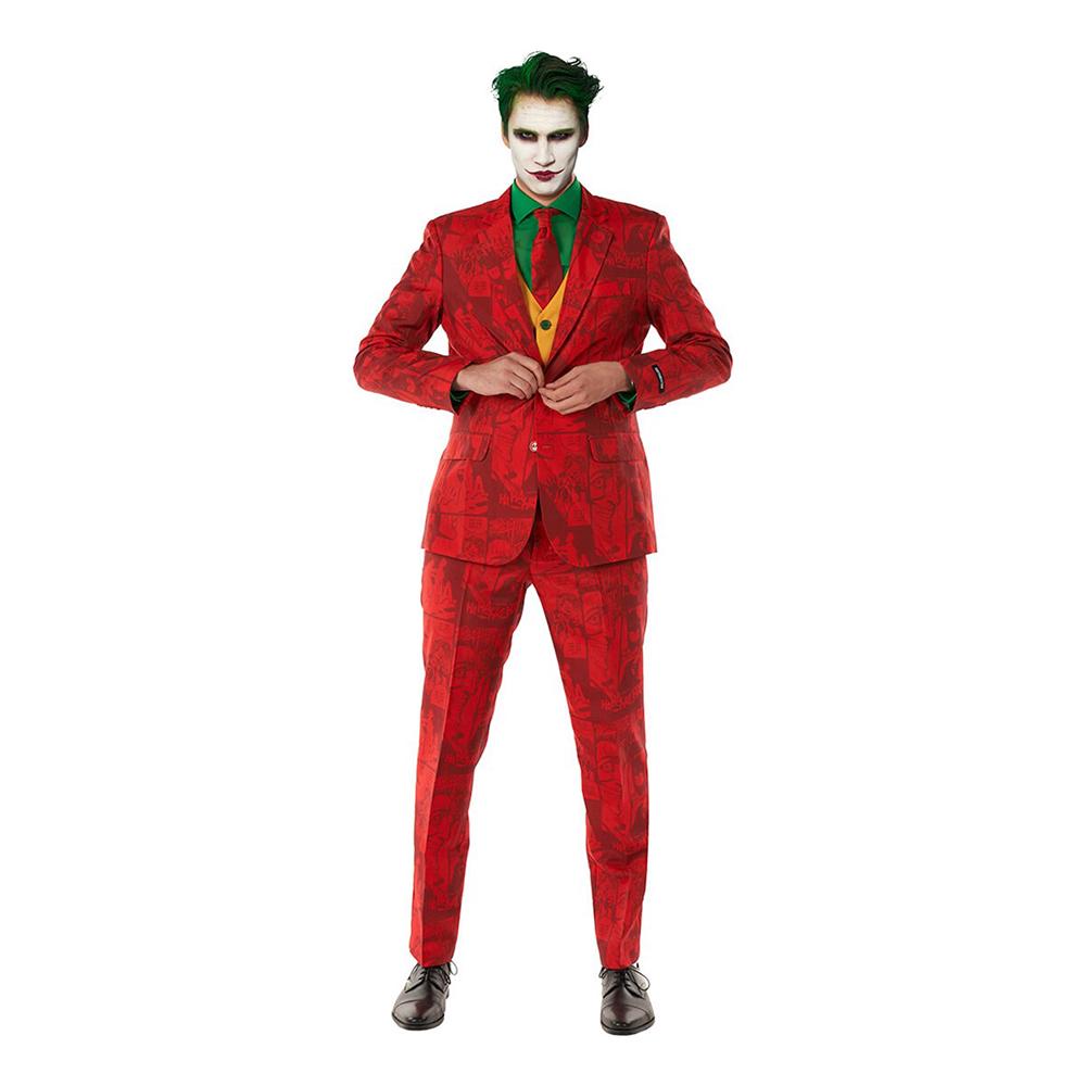Suitmeister Scarlet Joker Kostym - Medium