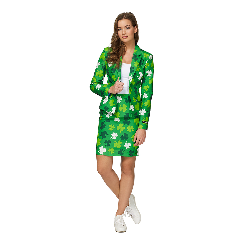 Suitmeister St Patricks Day Dam Kostym - Small
