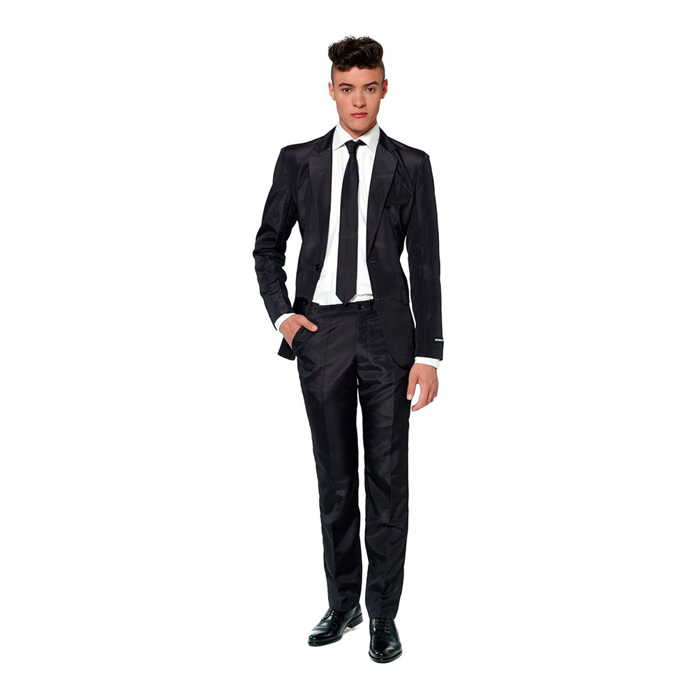 Suitmeister Svart Kostym - Small