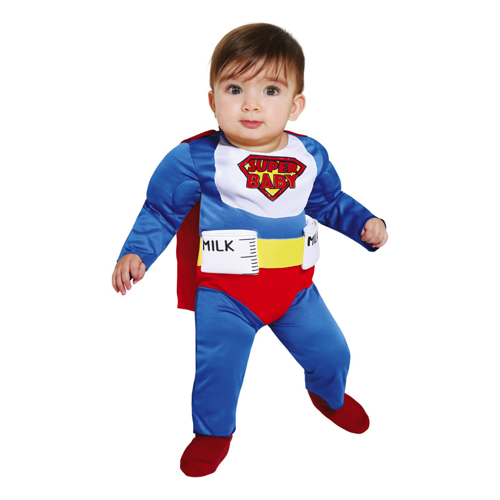 Super Baby Bebis Maskeraddräkt - 62 cm