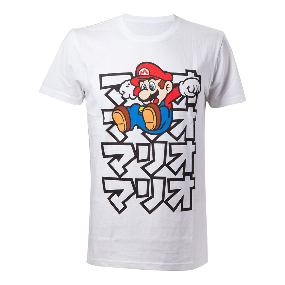 Japanflaggor - Super Mario Japan T-shirt - Medium