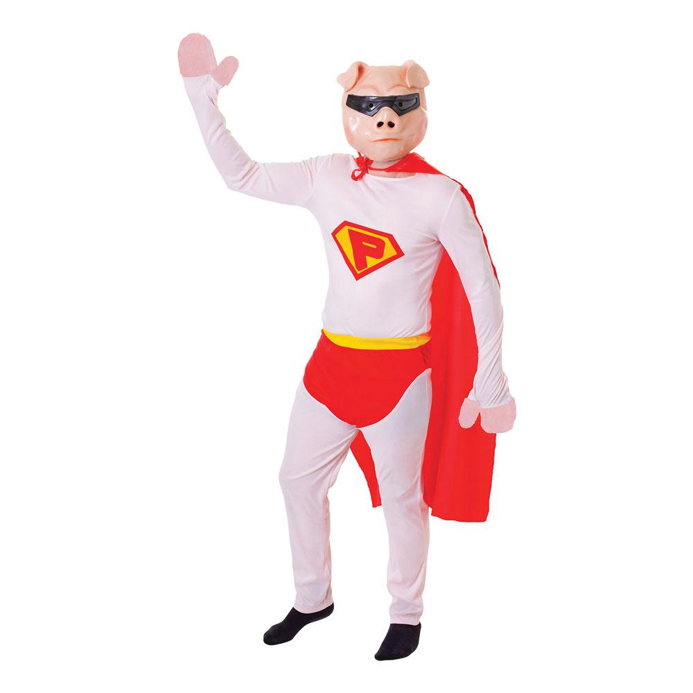 Supergrisen Maskeraddräkt - One size