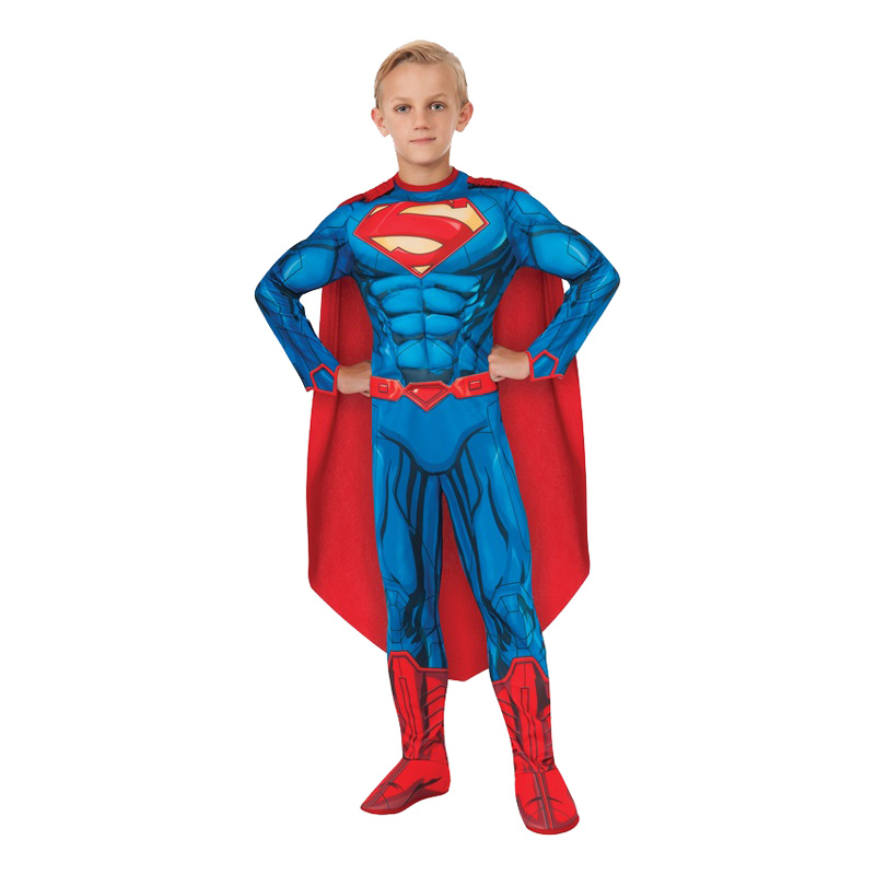 Superman New Barn Maskeraddräkt - Small