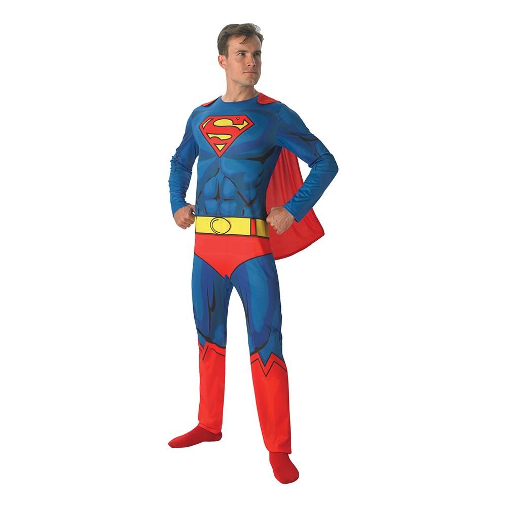 Superman Serietidning Maskeraddräkt - Standard