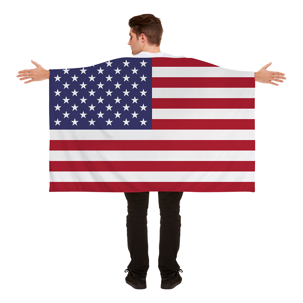 Flaggcape USA - One size