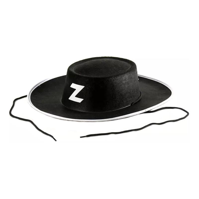 Svart Bandit Hatt - One size