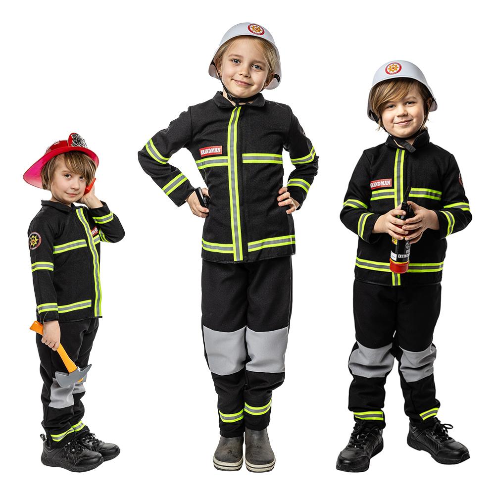 Svensk Brandman Barn Maskeraddräkt - Small