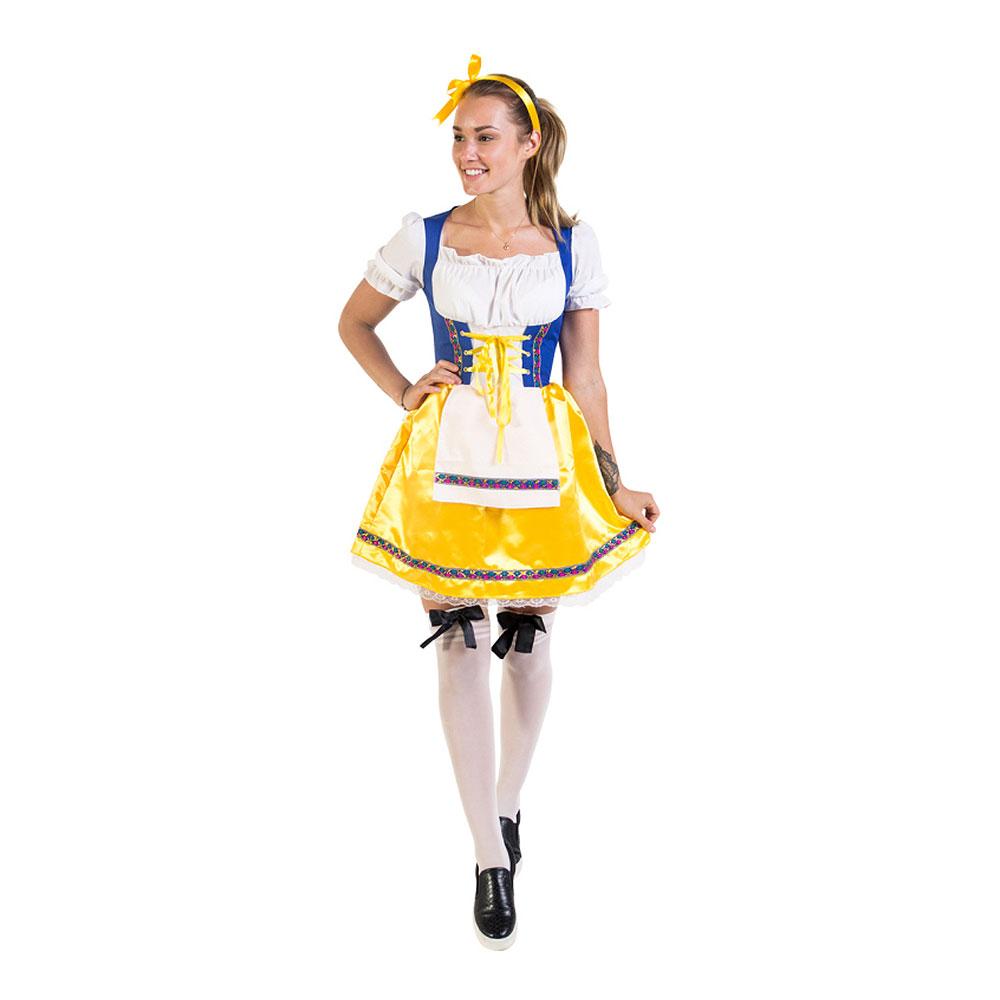 Sverigeklänning Budget Maskeraddräkt - Large