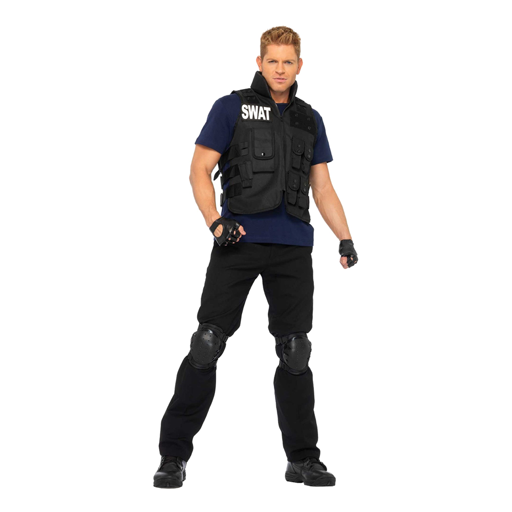 S.W.A.T. Deluxe Maskeraddräkt - One size