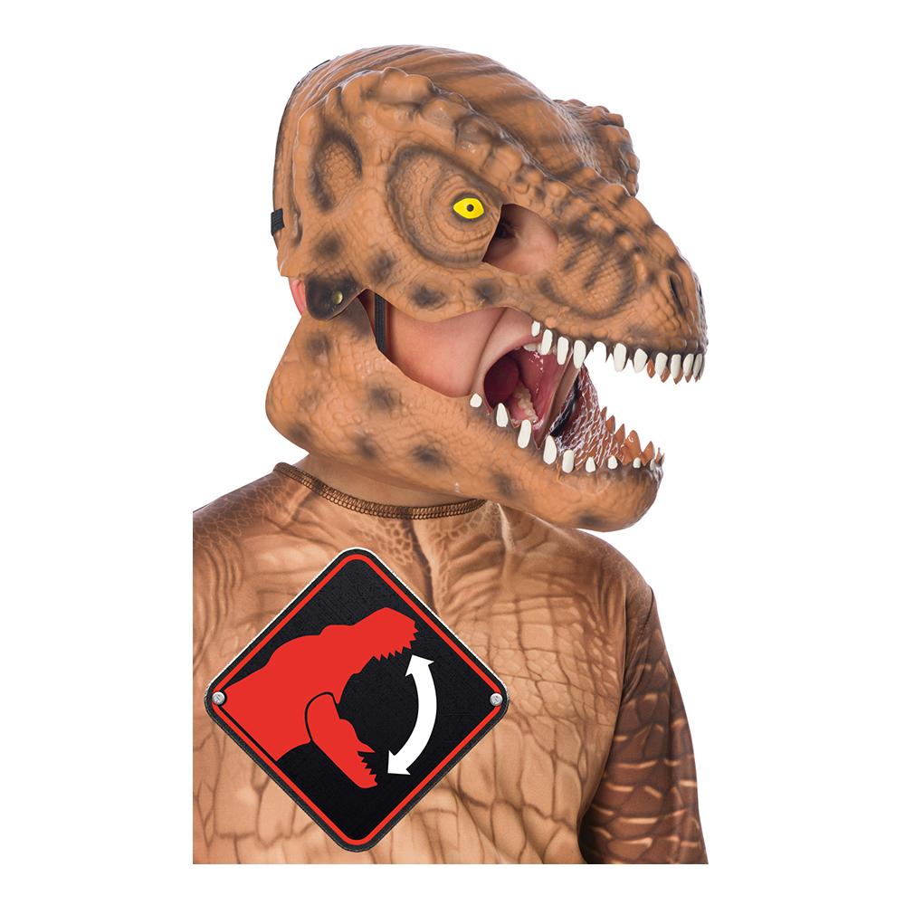 Dinosaurie - T-Rex Mask för Barn - One Size