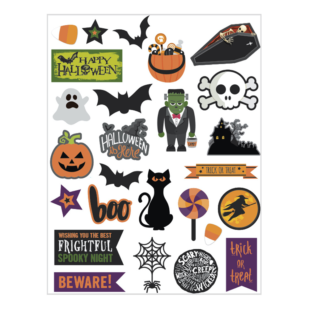 Tags Halloween - 24-pack