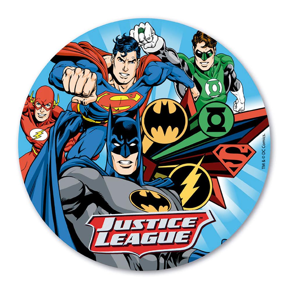 Tårtbild Justice League