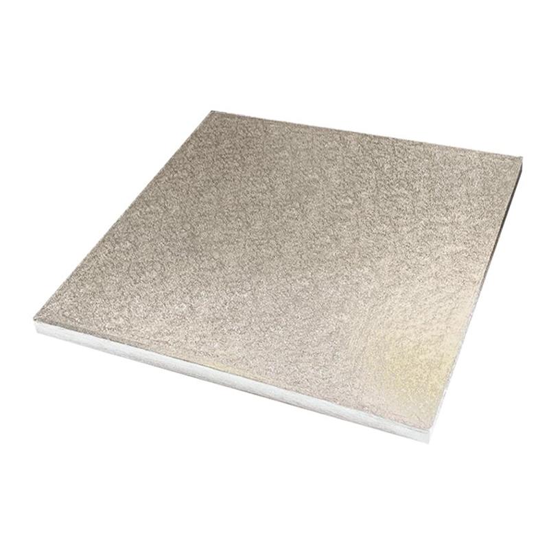 Tårtbricka Silver Kvadratiska - 25 cm