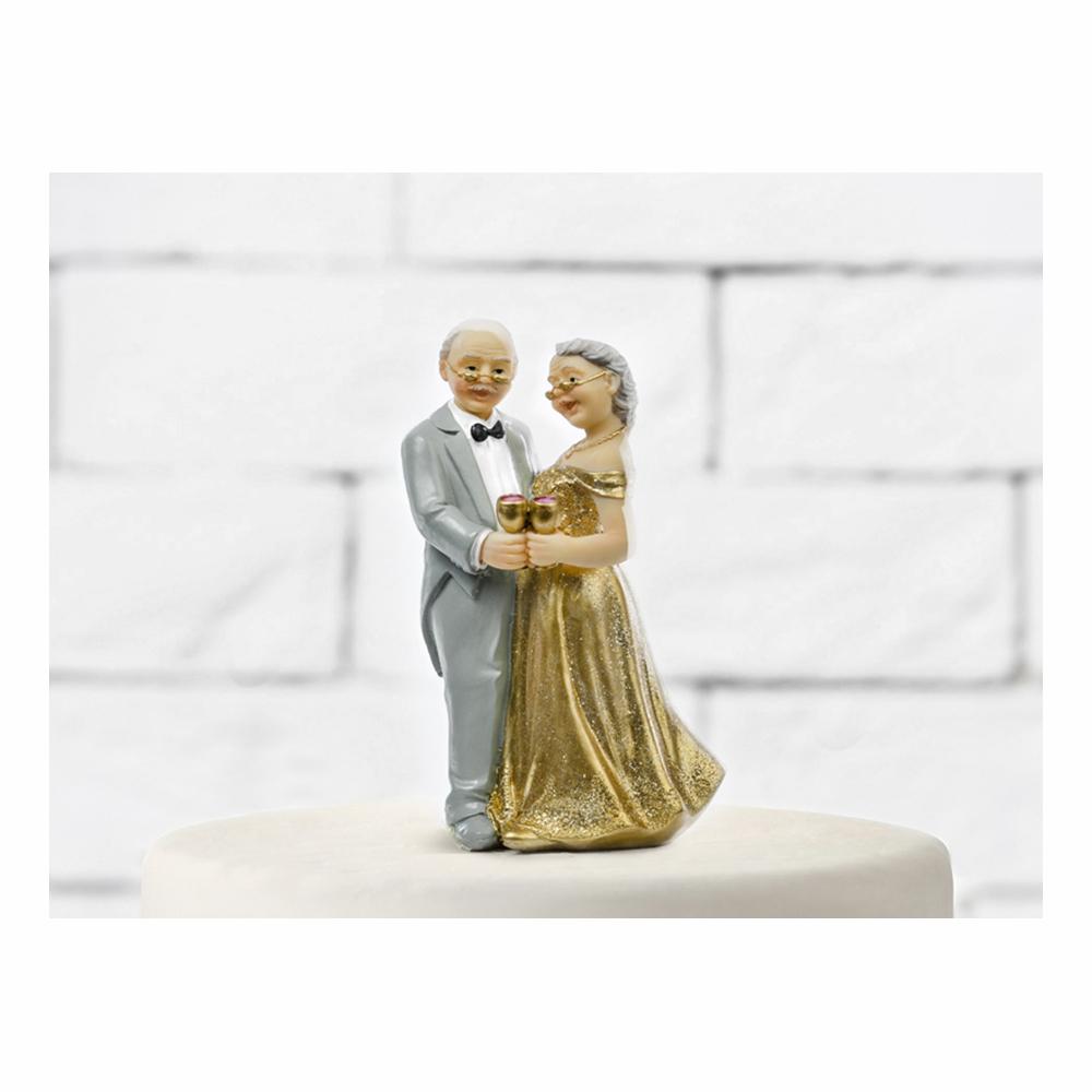 Tårtfigur 50 år Bröllopsdag
