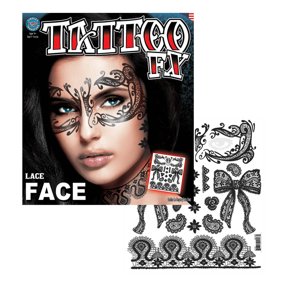 Tattoo FX Lace Face