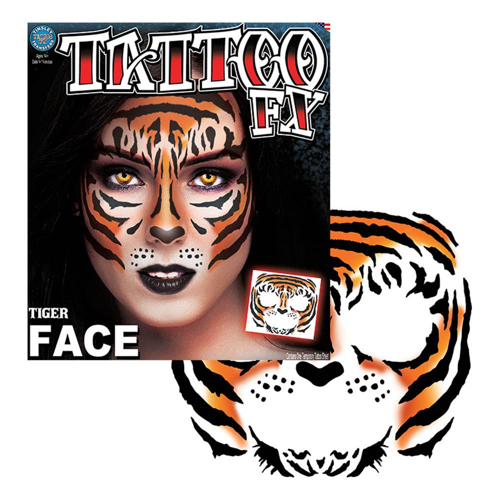 Tattoo FX Tiger Face
