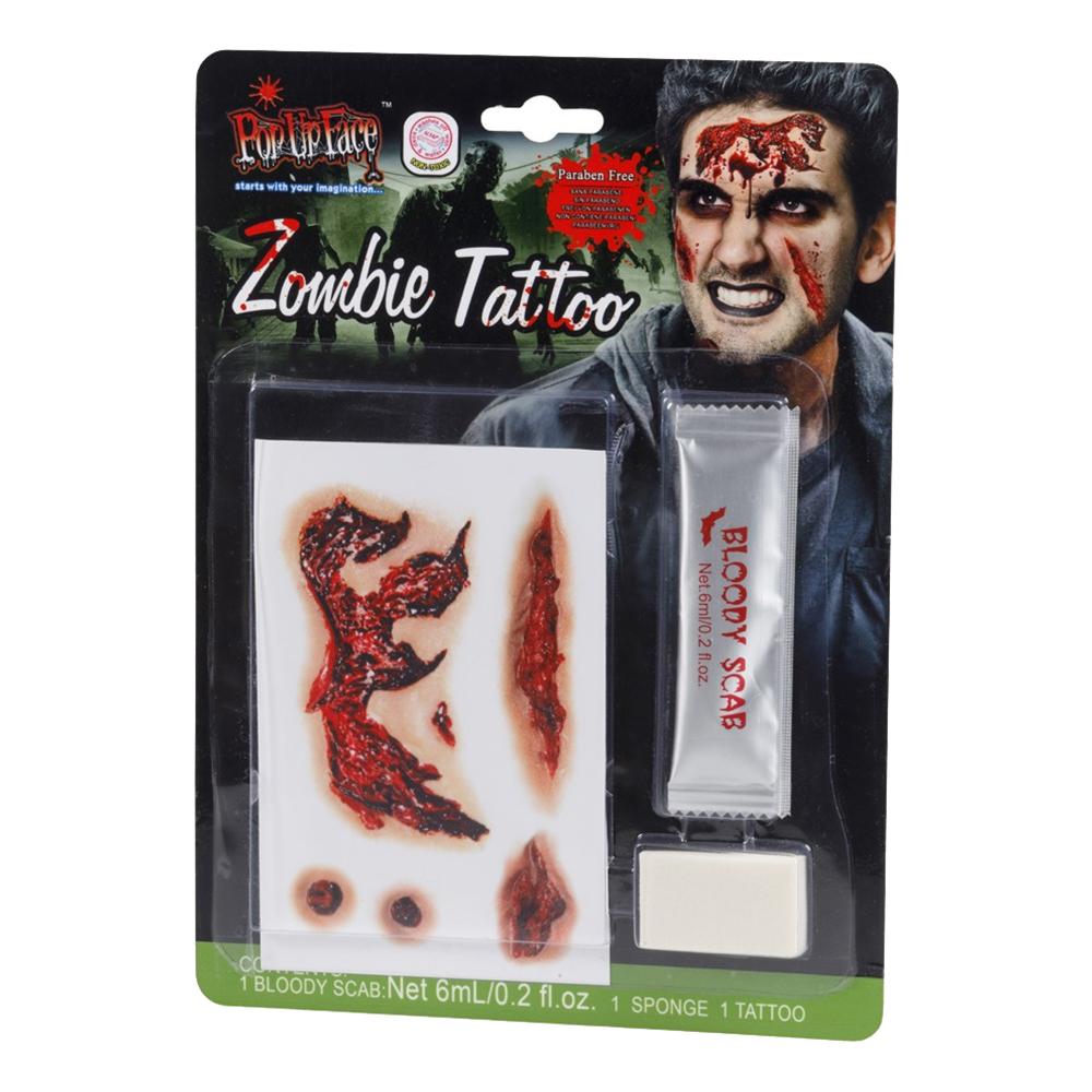 Tattoo och Blodkit Zombie