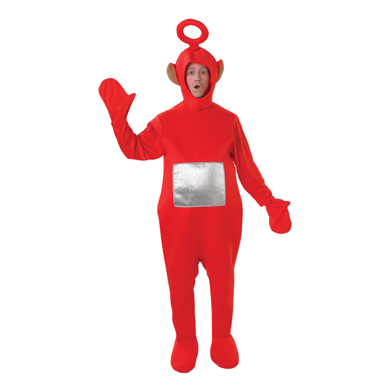 Teletubbies Po Maskeraddräkt - One size